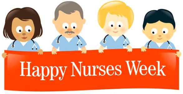 Happy nurses week 2018 clipart svg transparent National Nurse\'s Week: What do we really want?   HospitalRecruiting.com svg transparent