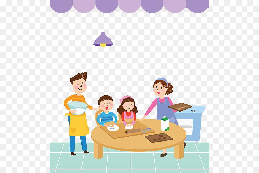 Happy parents day clipart banner black and white library Parents Day Happy Family png download - 554*600 - Free Transparent ... banner black and white library