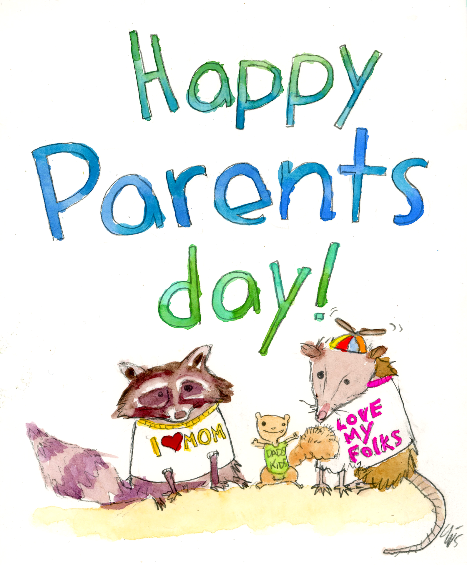 Happy parents day clipart banner library Happy Parents Day banner library