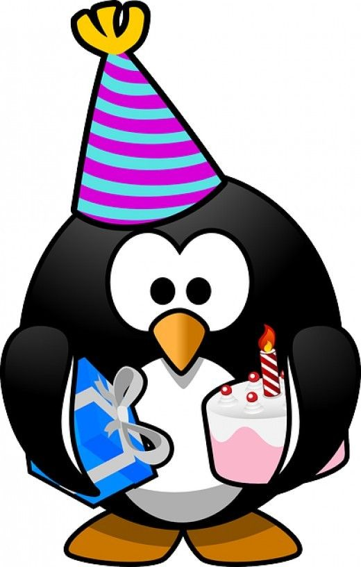 Happy penguin clipart png black and white download Happy Birthday Penguin Clipart | Penguinis!!! | Happy birthday clip ... png black and white download