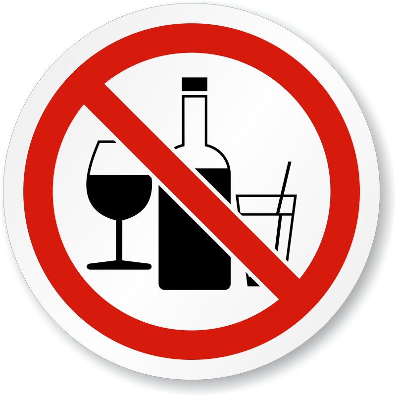 Happy person sayimg no to alcohol clipart jpg transparent download Can I Attend Events Where Alcohol Is Served? jpg transparent download
