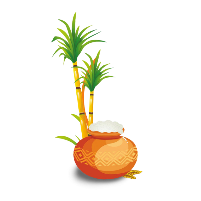 Happy pongal clipart picture library Pin by Yuvan Shankar on Png in 2019 | Happy pongal, Happy, Clip art picture library