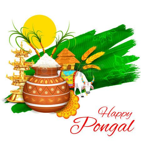 Happy pongal clipart graphic stock pongal festival clipart | Projects to try | Happy pongal, Wishes ... graphic stock
