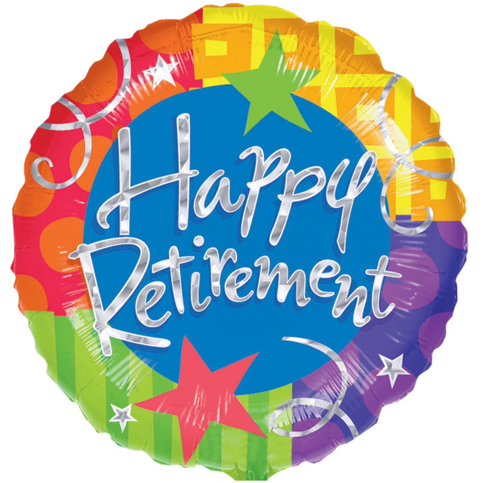 Happy retirement banner clipart jpg black and white library Happy Retirement Balloon | Sherwood Florist | Florist Havant ... jpg black and white library