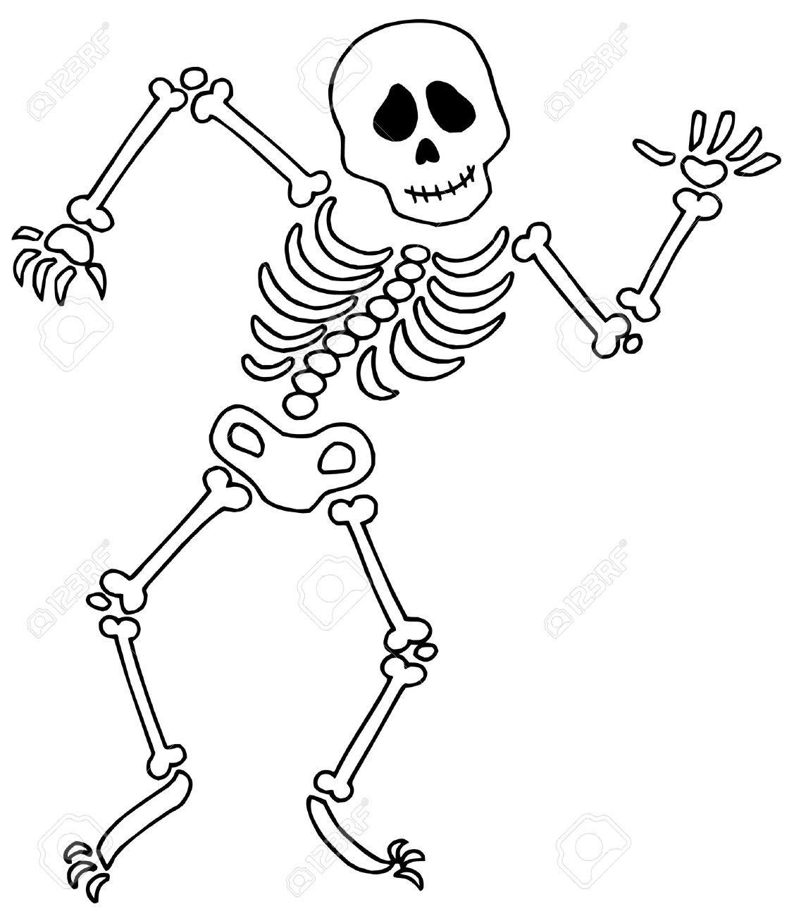 Happy skeleton clipart clip art free stock Happy skeleton clipart 4 » Clipart Portal clip art free stock