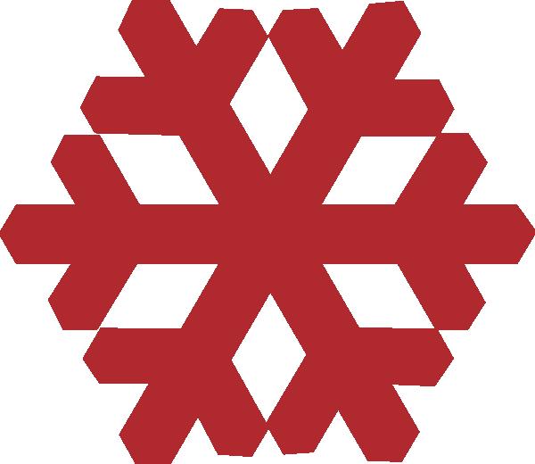 Happy snowflake clipart clip art Red Snowflake Clip Art at Clker.com - vector clip art online ... clip art