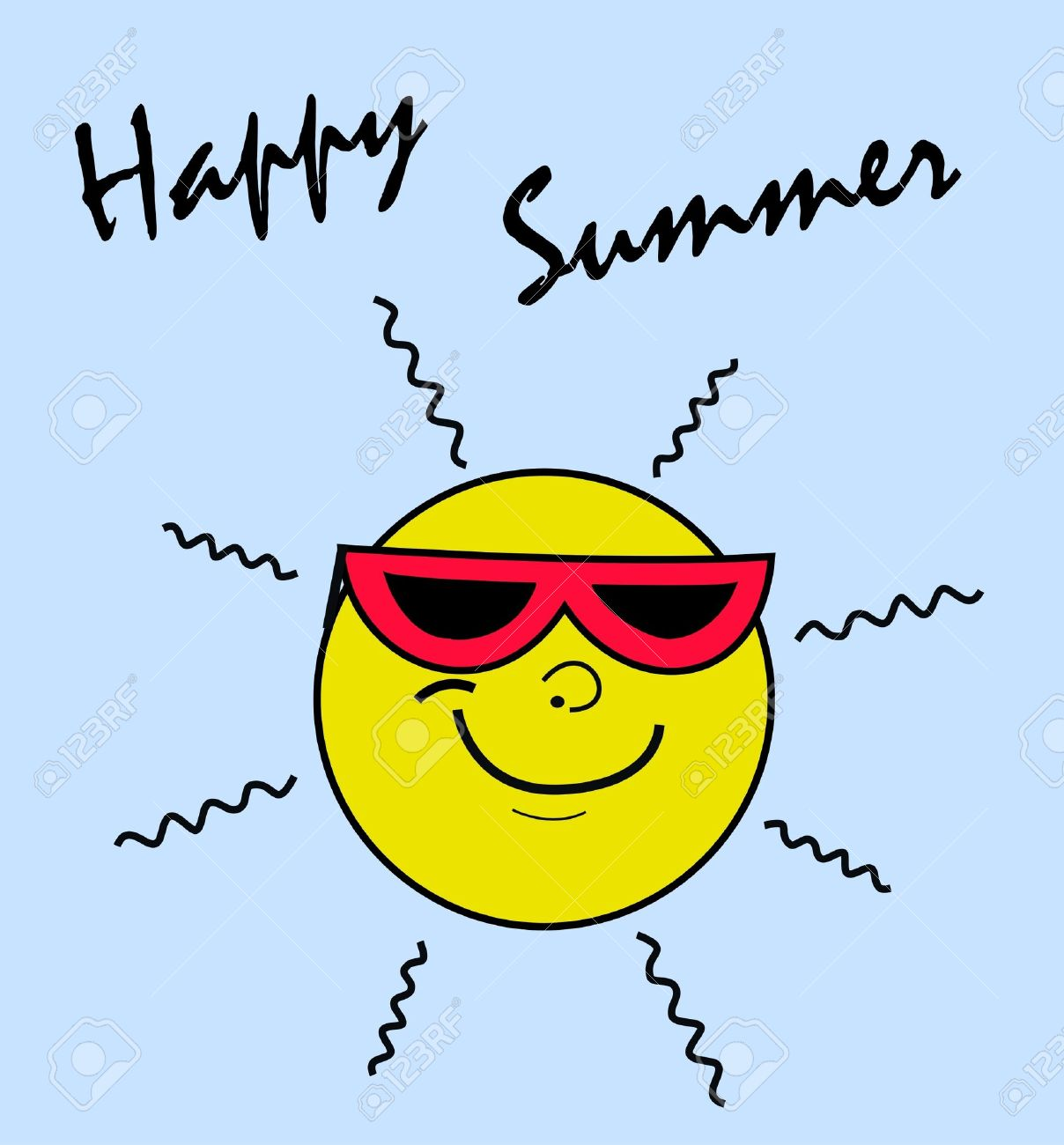 Happy summer clipart banner free free clip art : happy summer | Clipart Panda - Free Clipart Images banner free