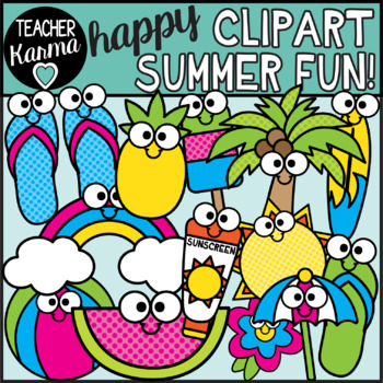Happy summer clipart clipart royalty free download Summer Clipart - Happy Style clipart royalty free download