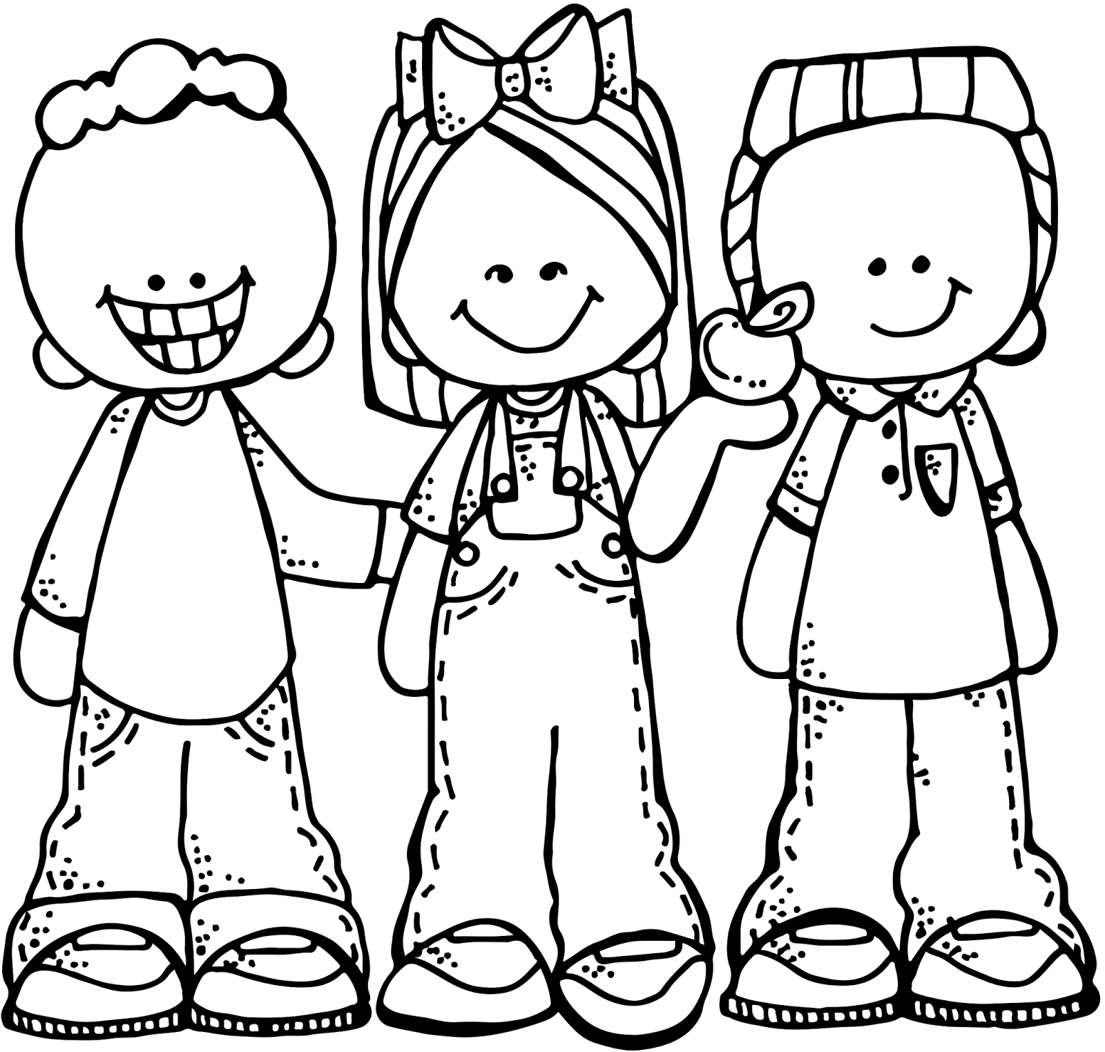 Kids with basketball laughing clipart black and white black and white stock Sunshine Clipart melonheadz - Free Clipart on Dumielauxepices.net black and white stock