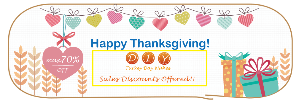 Happy thanksgiving banner type clipart jpg transparent download DIY Wishes on Thanksgiving Day jpg transparent download