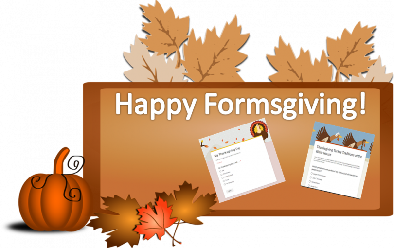 Happy thanksgiving son clipart clip art free Give Thanks with Google Forms - TechNotes Blog clip art free