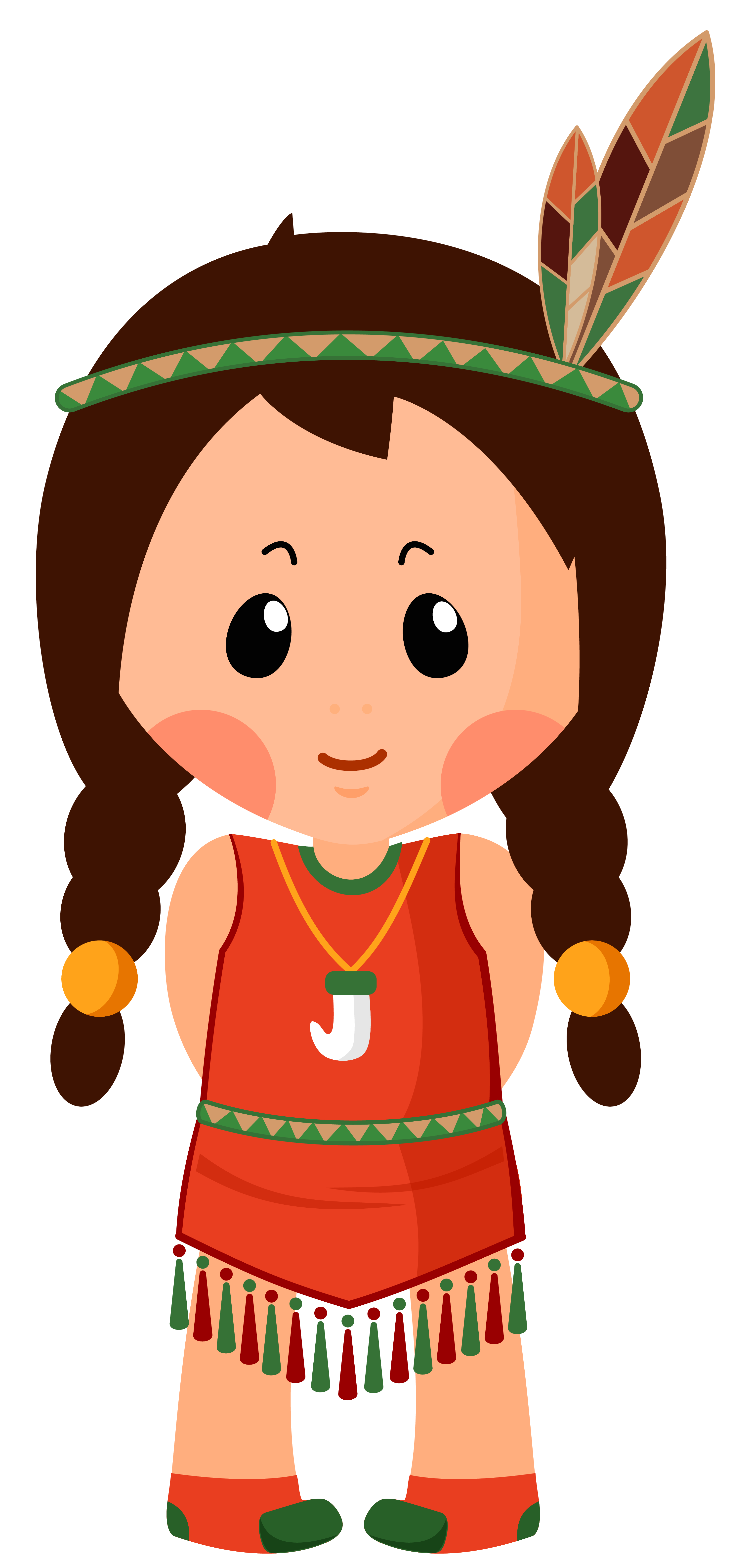 Thanksgiving indian no background clipart clipart royalty free stock Native American Girl Clipar PNG Image | Gallery Yopriceville - High ... clipart royalty free stock