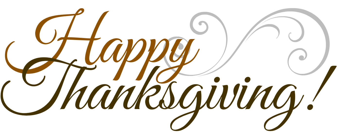 Happy thanksgiving text clipart png black and white stock Thanksgiving Transparent PNG Pictures - Free Icons and PNG Backgrounds png black and white stock