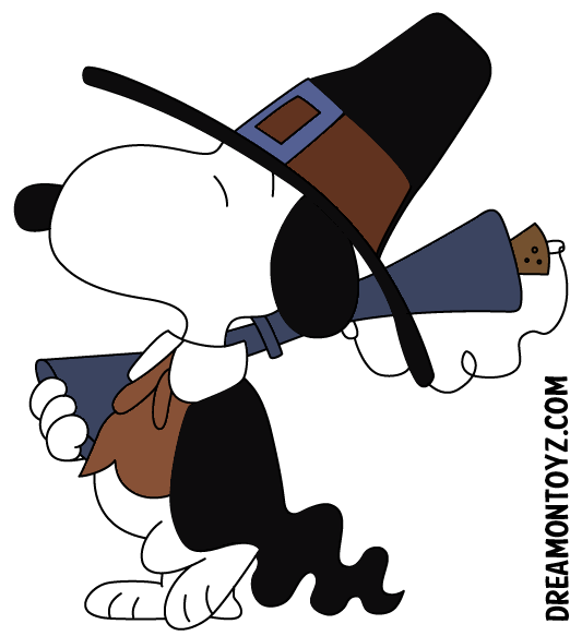 Happy thanksgiving village clipart picture stock Pilgrim Snoopy carrying a musket   Peanuts   Pinterest   Snoopy and ... picture stock