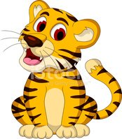 Happy tiger clipart royalty free Happy Tiger Sitting Cartoon for You Design stock vectors - Clipart.me royalty free