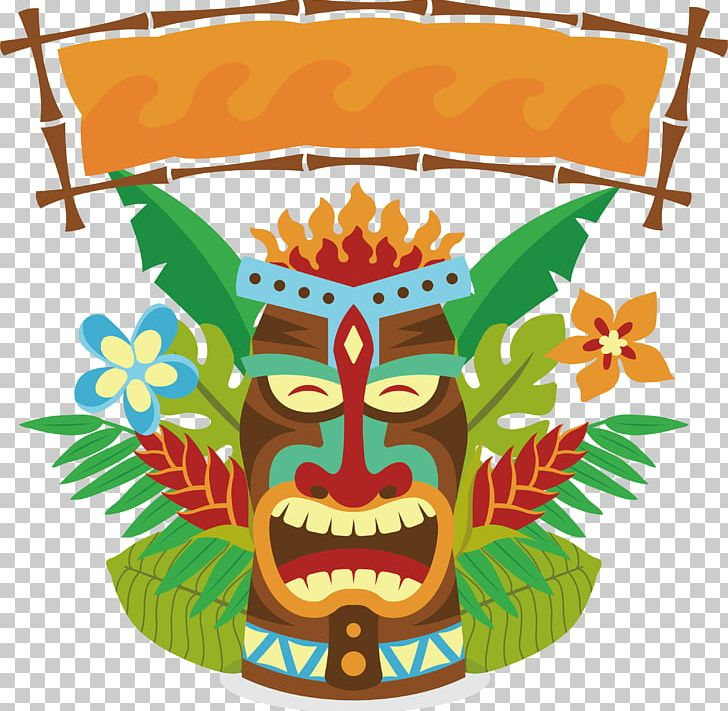 Happy tiki clipart banner library stock Tiki Mask PNG, Clipart, Art, Box, Box Vector, Encapsulated ... banner library stock