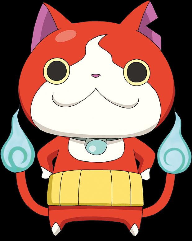 Red cat clipart free stock Image - Jibanyan (Yo-Kai Watch).png | Happy Tree Friends Fanon Wiki ... free stock