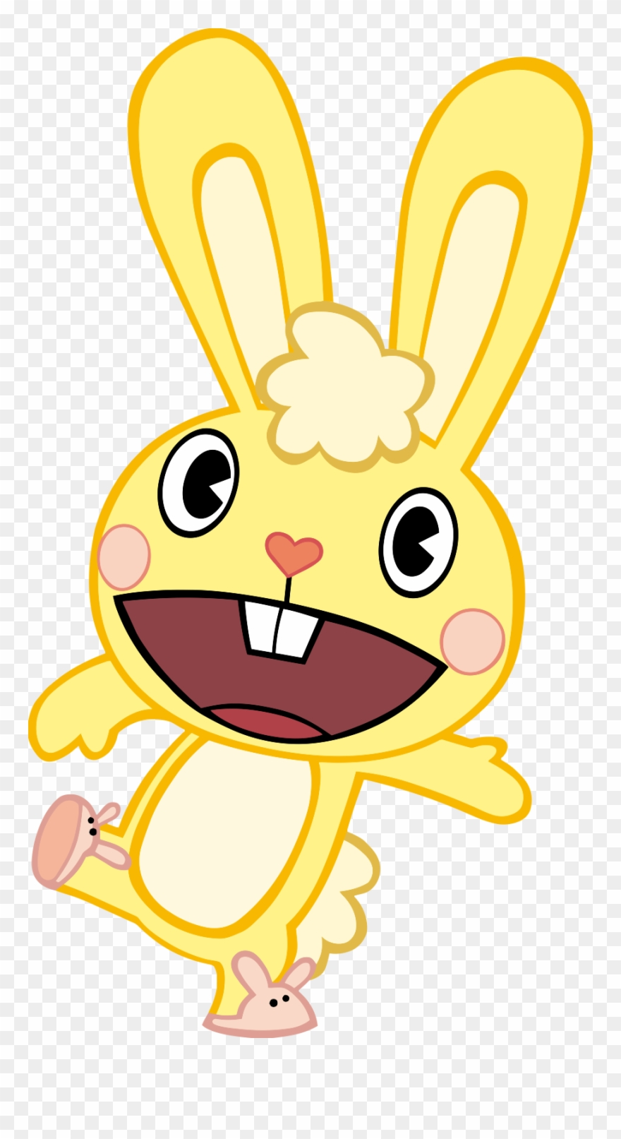 Happy tree friends clipart svg library library Cuddling Clipart Transparent - Happy Tree Friends Rabbit - Png ... svg library library