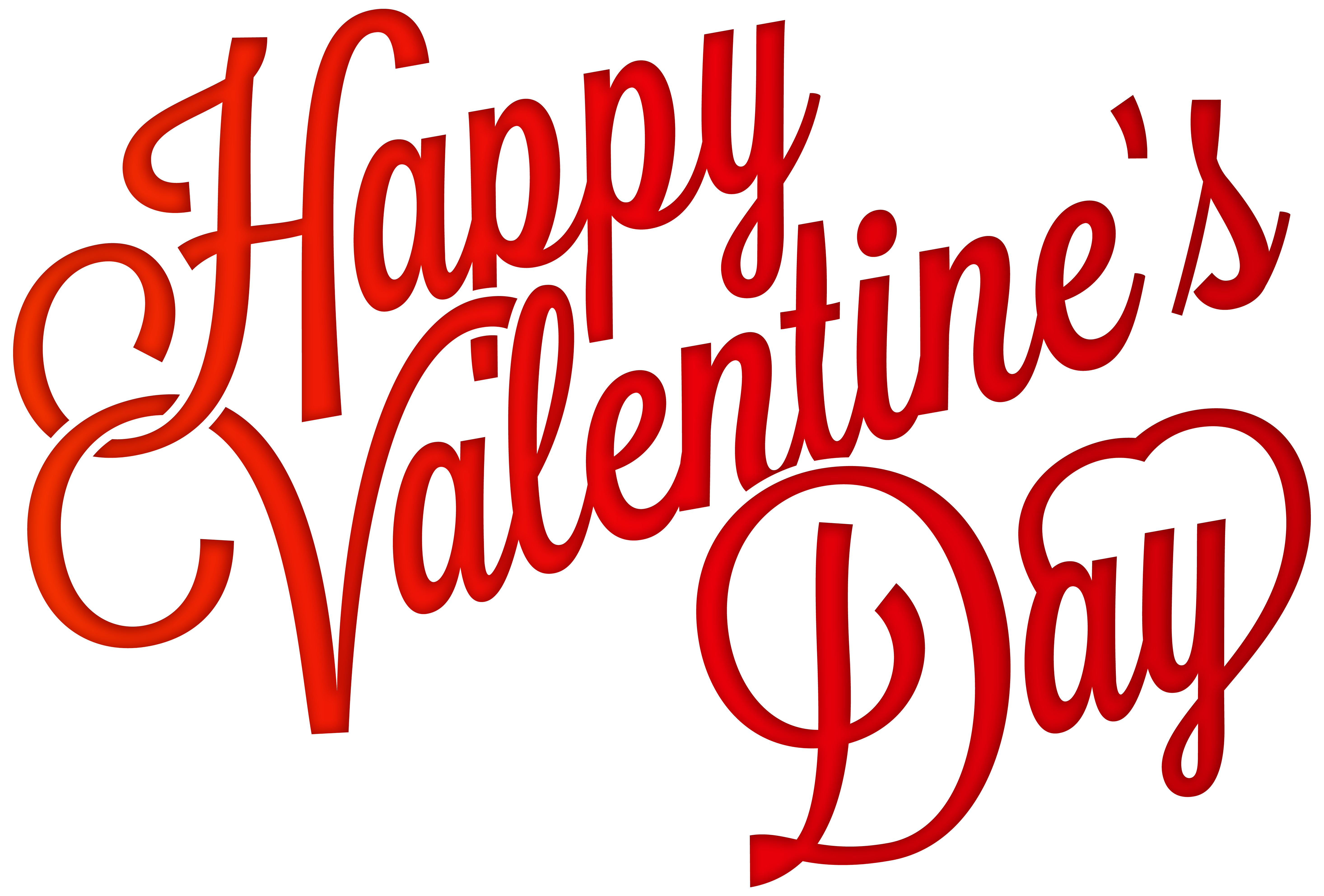 Happy valentine day clipart clip art library library Red Happy Valentine\'s Day PNG Clip-Art Image | Gallery Yopriceville ... clip art library library