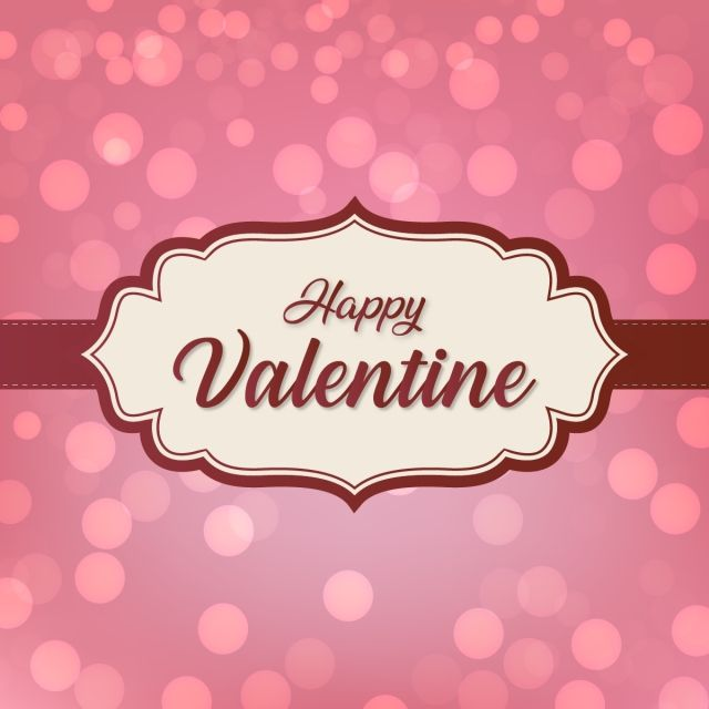 Happy valentine s elegant fancy letters clipart transparent clipart transparent library Happy Valentine Day With Classic Circular Bokeh Background, Abstract ... clipart transparent library