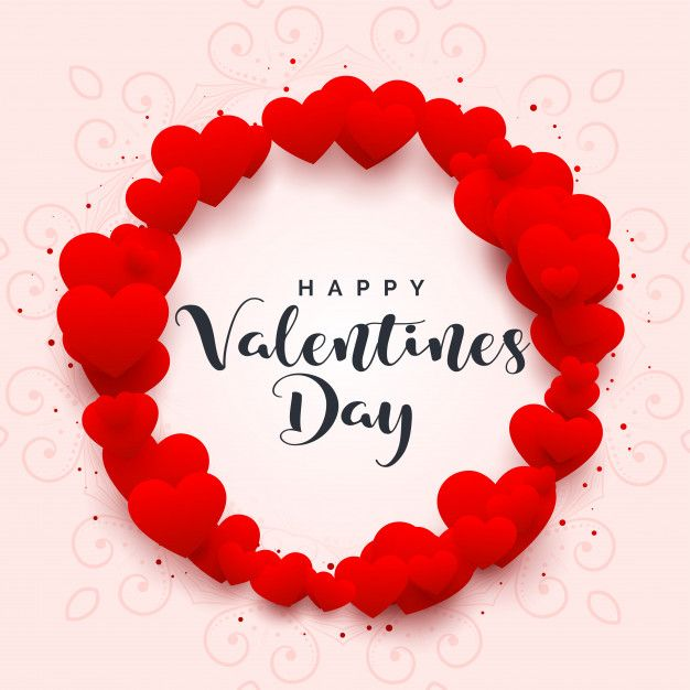 Happy valentine s elegant fancy letters clipart transparent picture free stock Hearts frame for happy valentines day Free Vector | Art | Valentine ... picture free stock