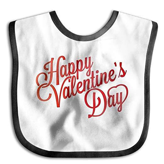 Happy valentines baby girl clipart clipart royalty free stock Amazon.com: Fonsisi Soft Bibs Happy Valentines Day Clipart Lovely ... clipart royalty free stock