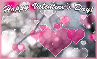 Happy valentines day animated clipart image black and white stock Free Valentine Gifs - Valentine Animations - Clipart image black and white stock