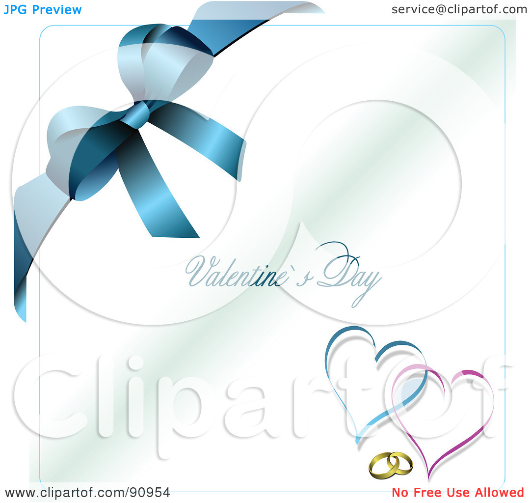 Happy valentines day clipart with blue hearts clip transparent Happy valentines day clipart with blue hearts - ClipartFest clip transparent