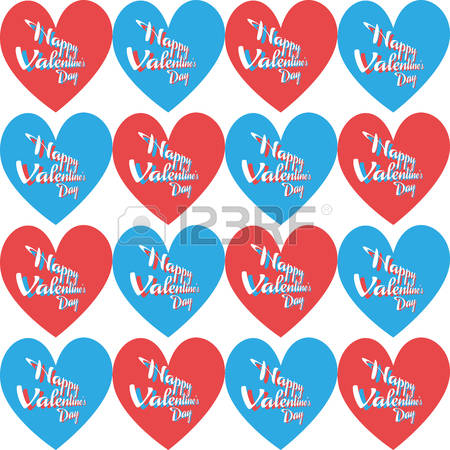 Happy valentines day clipart with blue hearts clip art royalty free stock Happy valentines day clipart with blue hearts - ClipartFest clip art royalty free stock