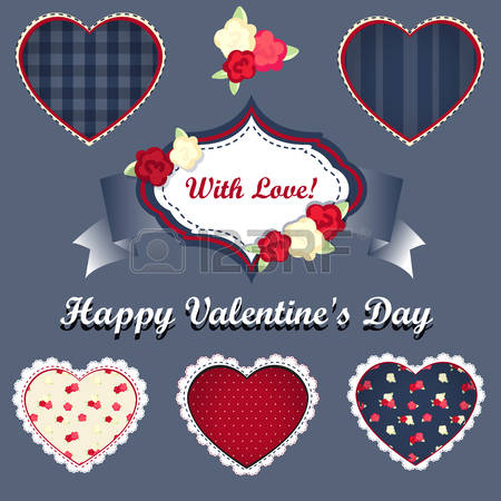 Happy valentines day clipart with blue hearts image transparent library 55,469 Blue Hearts Stock Vector Illustration And Royalty Free Blue ... image transparent library