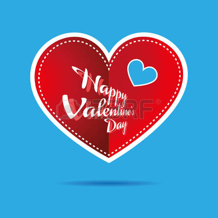 Happy valentines day clipart with blue hearts vector download Happy valentines day clipart with blue hearts - ClipartFest vector download