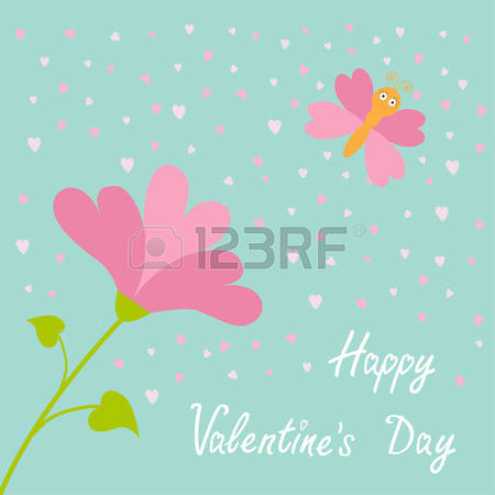 Happy valentines day clipart with blue hearts freeuse Happy valentines day clipart with blue hearts - ClipartFox freeuse