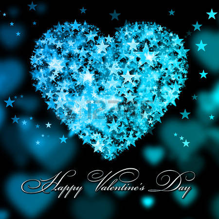 Happy valentines day clipart with blue hearts picture freeuse stock Happy valentines day clipart with blue hearts - ClipartFox picture freeuse stock
