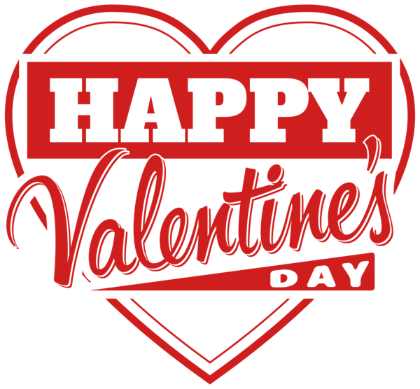 Happy valentines day heart clipart image transparent download Happy Valentines Day PNG image free download image transparent download
