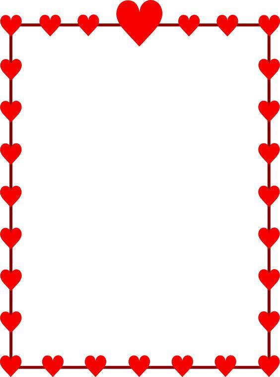Happy valentines elegant fancy letters clipart transparent clip black and white download Valentine Borders Clipart | Free download best Valentine Borders ... clip black and white download