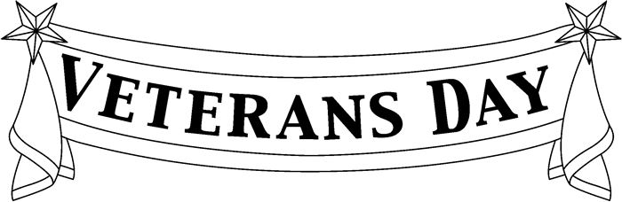 Happy veterans day black and white clipart image black and white library Veterans Day Clipart Black And White image black and white library