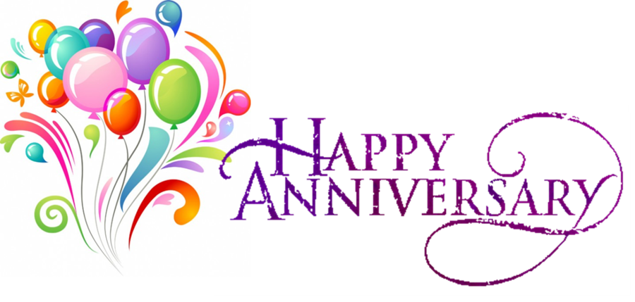 Happy wedding anniversary text clipart picture free library Wedding Anniversary Text clipart - Birthday, Party, Gift ... picture free library