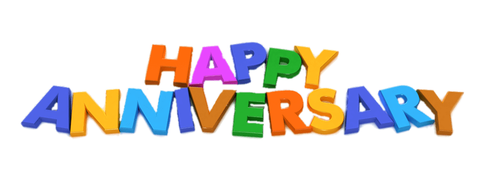 Happy wedding anniversary text clipart banner freeuse download Happy Anniversary PNG Images Transparent Free Download   PNGMart.com banner freeuse download
