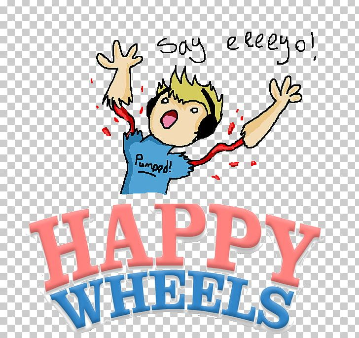 Happy wheels logo clipart jpg royalty free stock Illustration Graphic Design Happy Wheels Human Behavior PNG, Clipart ... jpg royalty free stock