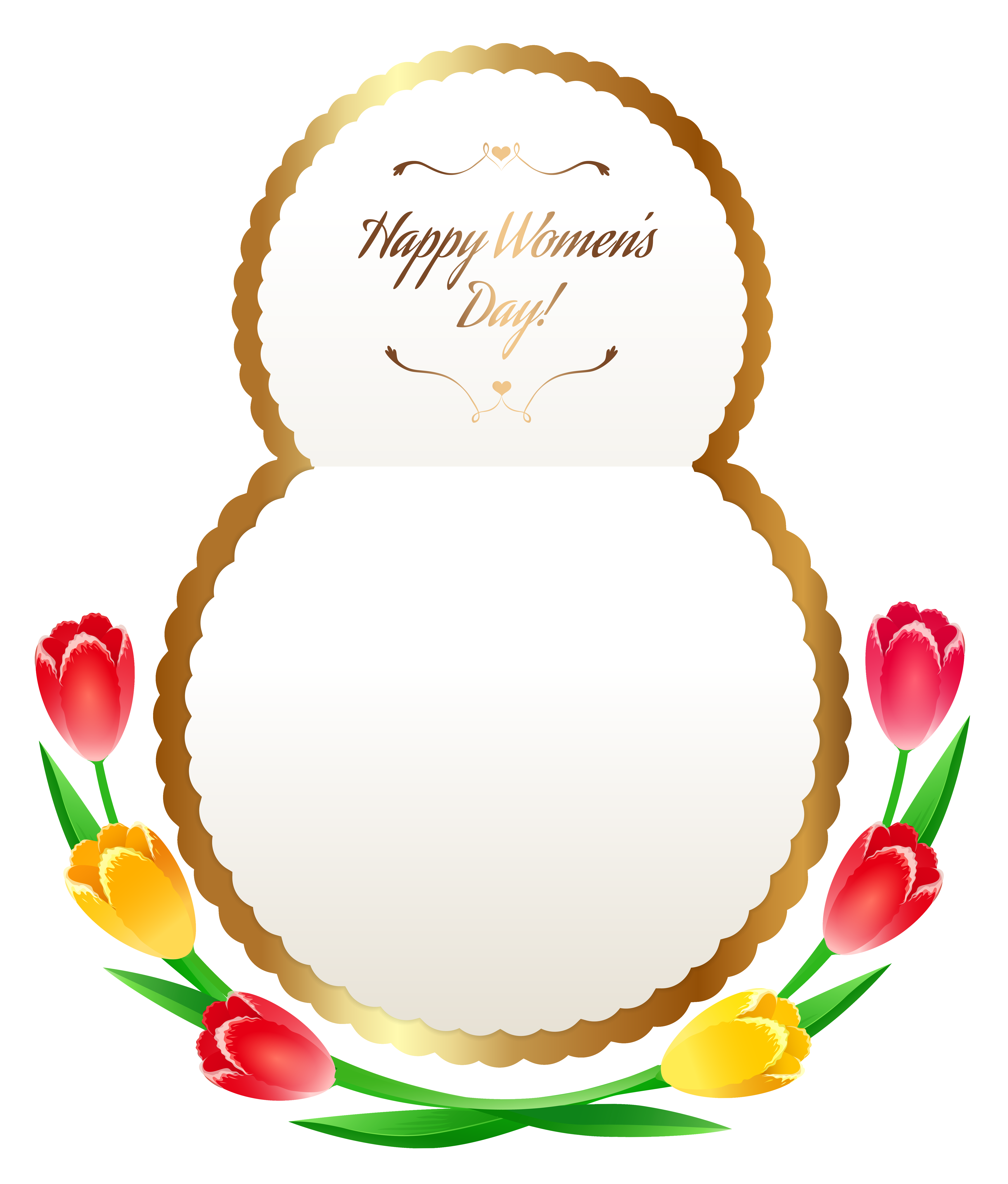 Happy women s day clipart png freeuse library Happy Womens Day PNG Clipart Image | Gallery Yopriceville - High ... png freeuse library