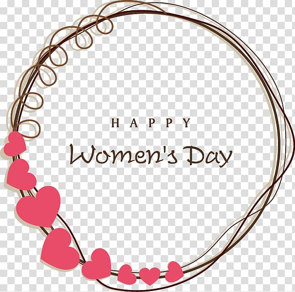 Happy women s day clipart banner freeuse Happy Women\'s Day logo, International Womens Day Wedding invitation ... banner freeuse