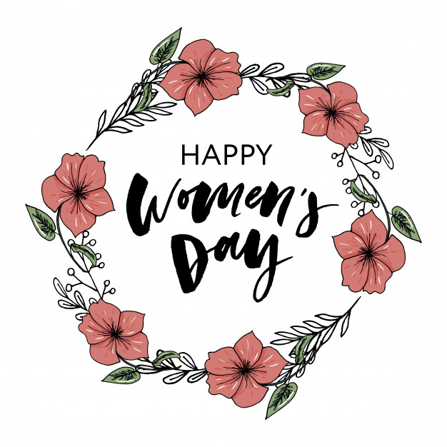 Happy women s day clipart clipart free download Happy women\'s day card Vector | Premium Download clipart free download