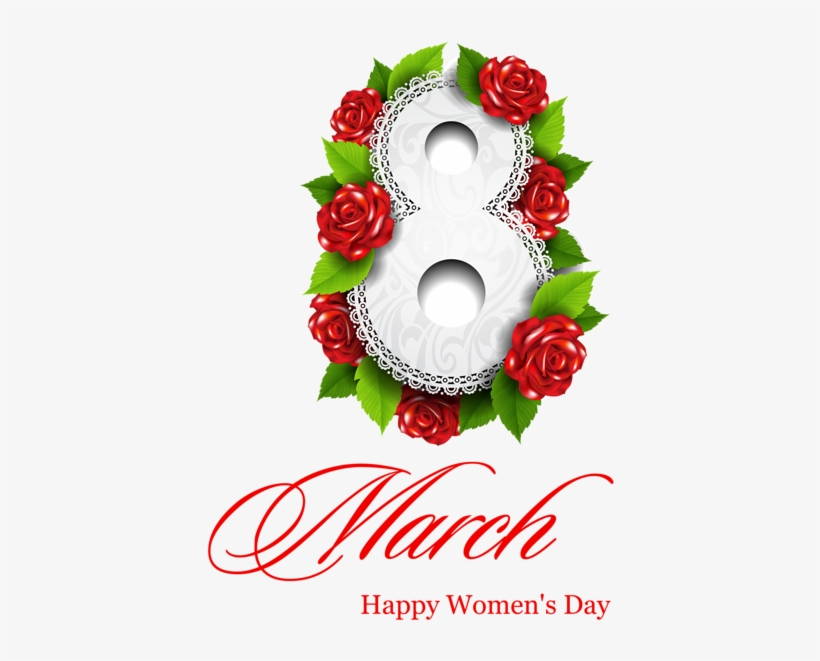 Happy women s day clipart graphic black and white library 8 March Png Clipart Picture - Happy Women\'s Day Clipart Png - Free ... graphic black and white library