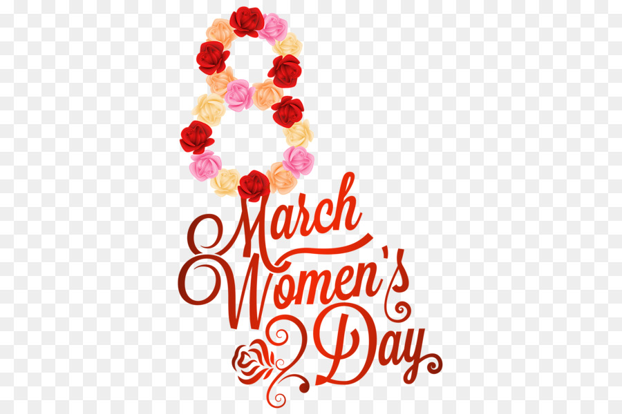 Women-s day clipart transparent library 8 March Womens Day clipart - Woman, Holiday, Flower, transparent ... transparent library