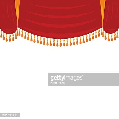 Har clipart svg freeuse Horizontal Red Curtain With Gold Theatrical Scenery, Har premium ... svg freeuse