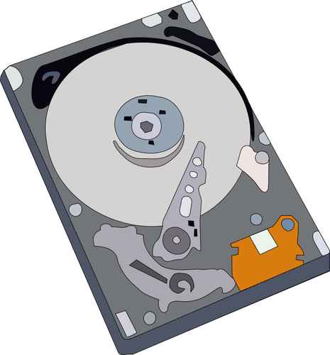 Hard disc clipart royalty free Hard disk vector illustration | Public domain vectors royalty free
