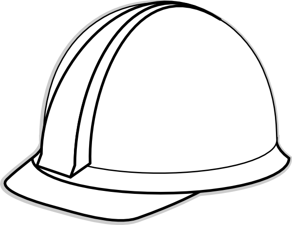 Hard hat clipart black and white banner freeuse stock Free Construction Hat Cliparts, Download Free Clip Art, Free Clip ... banner freeuse stock