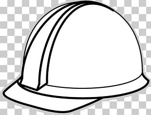 Hard hat clipart black and white graphic royalty free library Hard Hat White PNG, Clipart, Baseball Cap, Black, Black And White ... graphic royalty free library