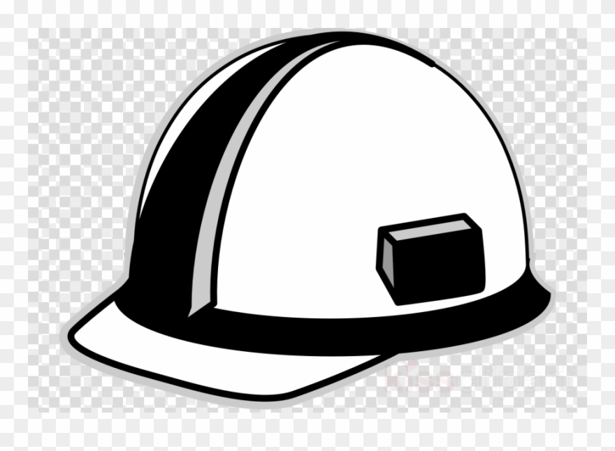 Hard hat clipart black and white clipart freeuse library Download Hard Hat Clip Art Black And White Clipart - Kakaotalk ... clipart freeuse library