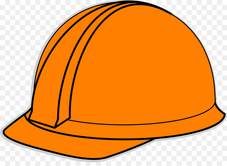 Hard hat clipart free jpg black and white stock Party Hat Cartoon png download - 1280*918 - Free Transparent Hard ... jpg black and white stock